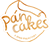 Mr. Cakes and his pancakes Logo